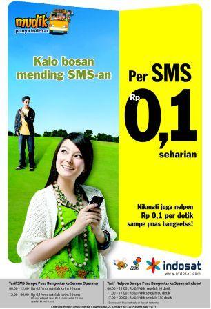 IM3 Telpon/SMS Rp.0,1